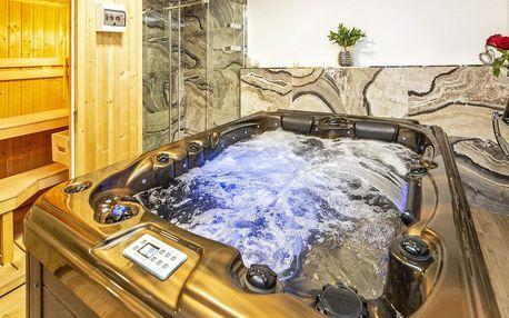 Relax v Harrachově s vířivkou, saunou a snídaněmi