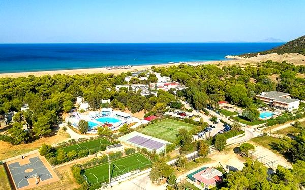 Kalogria Beach Hotel, Peloponés, Řecko, Peloponés, letecky, all inclusive4