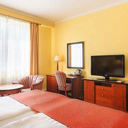 Karlovy Vary, hotel Dvořák Spa & Wellness**** se vstupem do wellness