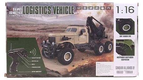 Terénní auto na dálkové ovládání zelené