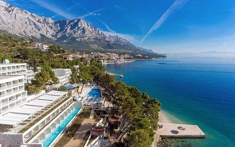 Chorvatsko - Brela na 8 dnů, polopenze