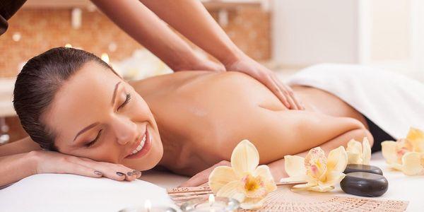 Otevřený voucher na masáž v hodnotě 600–1000 Kč