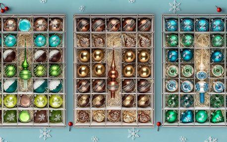 Kolekce na vánoční stromeček: 31 ozdob, 4 designy