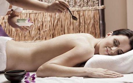 Relaxační thajská masáž konopným olejem