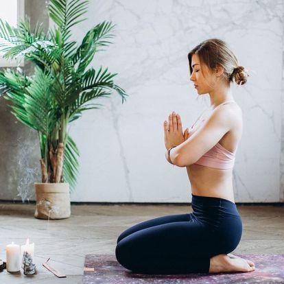 Jógou k rovnováze těla i mysli : 10 lekcí HOT JÓGY ve vyhřátém sále