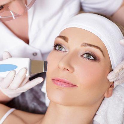 Ošetření pleti vč. čištění ultrazvukovou špachtlí