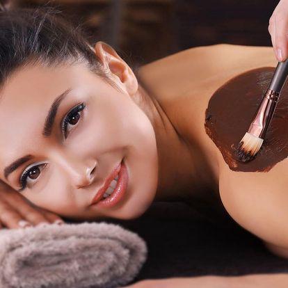 Hodinová celotělová masáž s vůní vanilky a čokolády