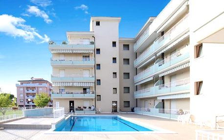 Itálie, Caorle | Residence Livenza*** | Bazén | Plážový servis a parkování zdarma
