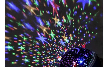 Solight LED projektor vánoční koule, 9 režimů