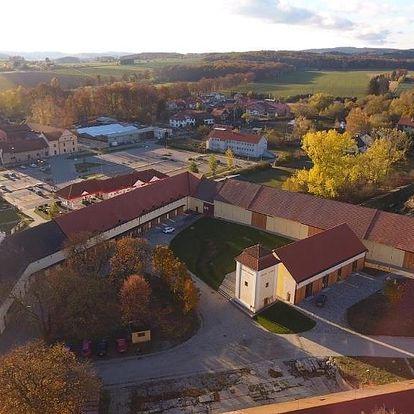 Telč, Vysočina: Penzion Panský dvůr Telč