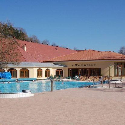 Lázně Bojnice, Léčebný dům Mier s termálními bazény
