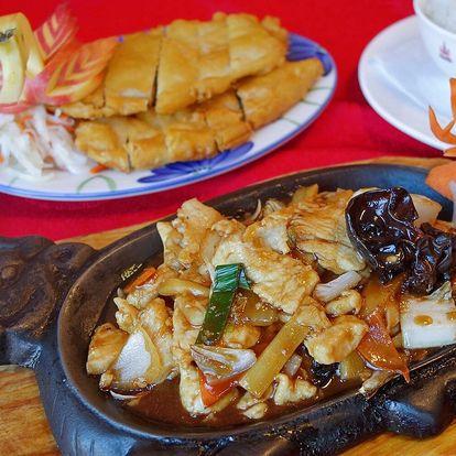 400 či 500 Kč na dobroty z čínské restaurace