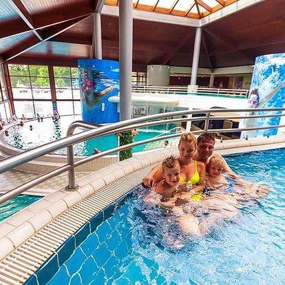 Moravske Toplice, zrenovovaný hotel Ajda**** s wellness s termální vodou
