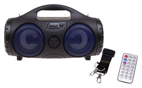 Přenosné bluetooth rádio ZQS-4215 modré
