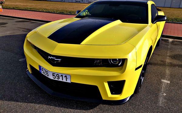 Pronájem Chevroletu Camaro (24 hodin)4