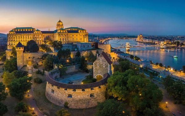 4* pobyt v centru Budapešti se snídaní i saunou