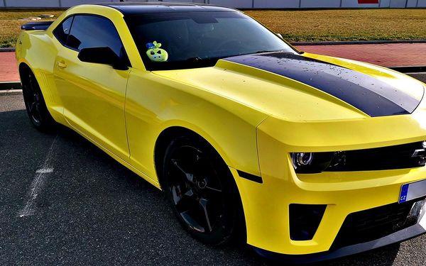 Pronájem Chevroletu Camaro na 40 minut, nebo až 24 hodin