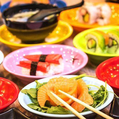 Running sushi: 2 hodiny neomezené konzumace