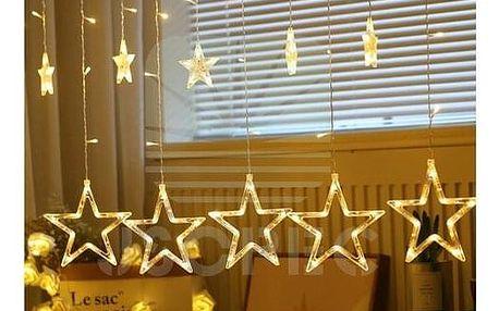 Sharks Vánoční osvětlení Hvězdy, teplá bílá SA126