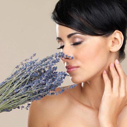 Relaxační kosmetické ošetření s vůní levandule