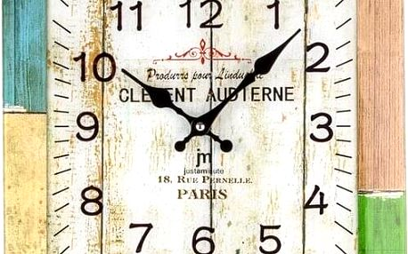 Lowell 14875 nástěnné hodiny