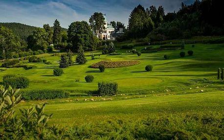 Karlovy Vary, Cihelny Golf & Wellness Resort**** ve Slavkovském lese