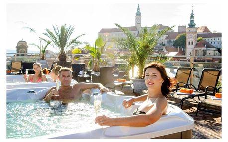 Hotel Galant s výhledem na moravský Mikulov a pár kroků od historického centra