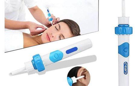 Vakuový čistič a odstraňovač ušního mazu