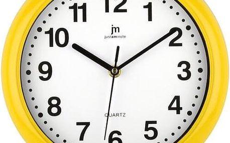 Lowell 00710Y Nástěnné hodiny pr. 25 cm