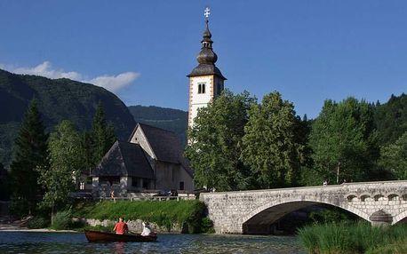Slovinsko - Bohinjské jezero na 7 dnů