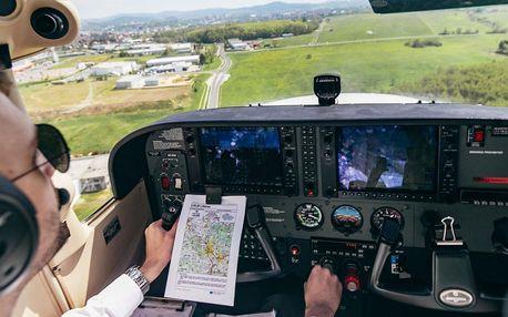 Na zkoušku pilotem letadla Cessna pro 1 osobu