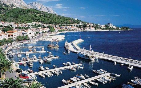 Chorvatsko - Podgora na 6 dnů