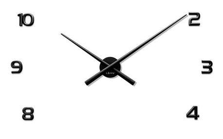 Lavvu LCT1170 Nalepovací hodiny 3D Sticker Black Numerals, černá