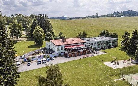 Černá v Pošumaví - Hotel RACEK, Česko