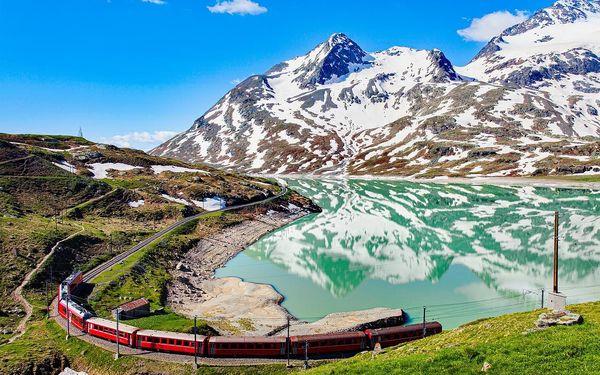Švýcarská železnice panoramatickým vlakem tratí UNESCO | 4denní poznávací zájezd