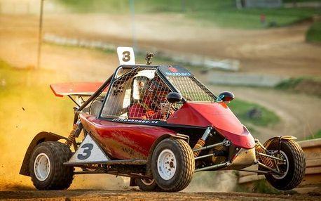 Až 10 kol autocross jízdy v nadupané speciálně upravené buggyně