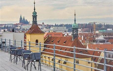 Praha na 4-31 dnů, snídaně v ceně