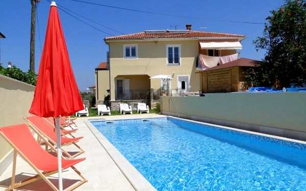 Chorvatsko, Umag: Apartments Villa Ela