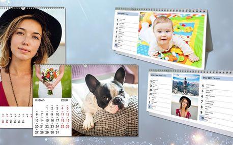 Fotokalendáře: stolní i nástěnné ve formátu A3