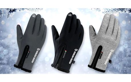 Unisex termo rukavice: 3 barvy ve 4 velikostech
