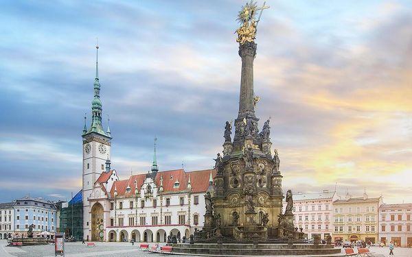 Odpočinkový pobyt v krásné Olomouci v moderním 4* hotelu + POLOPENZE - dlouhá platnost poukazu