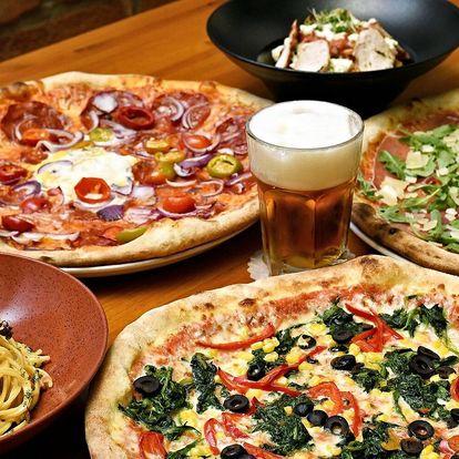 Pizza nebo těstoviny pro jednoho i partu