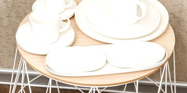 Mäser Sada porcelánových hrnků Vada 400 ml, 4 ks2