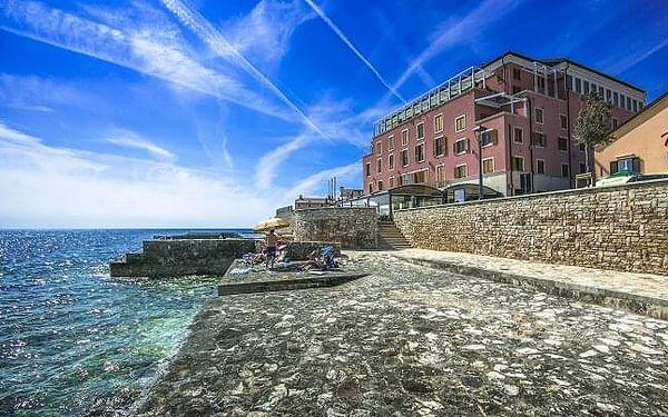 Chorvatsko: Istrie přímo na pláži v apartmánech Rotonda Inn až pro 6 osob + plně vybavená kuchyňka