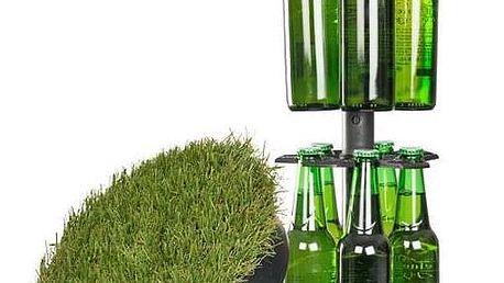 Skrytá pivní šachta na 15 lahví s manuálním zvedáním