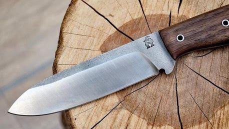 Ručně kovaný nůž Bushcraft