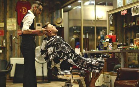 Barber péče: úprava vousů, střih i komplet balíčky