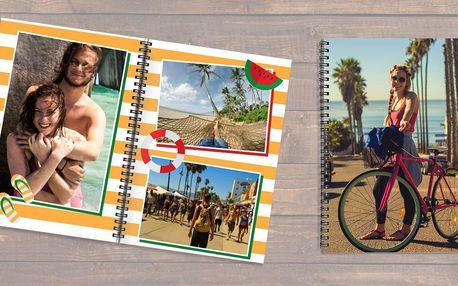 Fotokniha A4 s kroužkovou vazbou: 12 až 92 stran