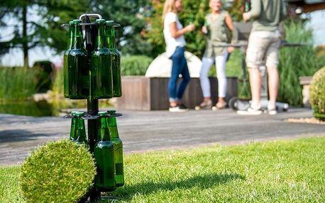 Skrytá pivní šachta na 15 lahví s hydraulickým zvedáním