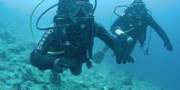 Ponor na zkoušku ve volné vodě4